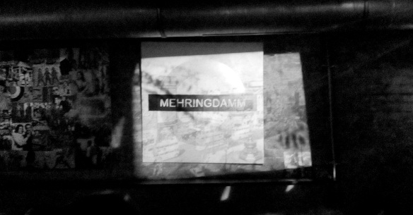 Mehringdam on the London Underground