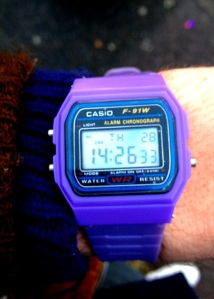 Purple digi Casio