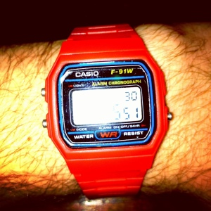 Red digi Casio