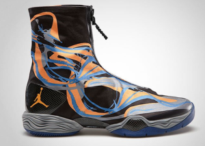 Nike Jordan XX8 Black / Bright Citrus Cool-Grey Deep Royal