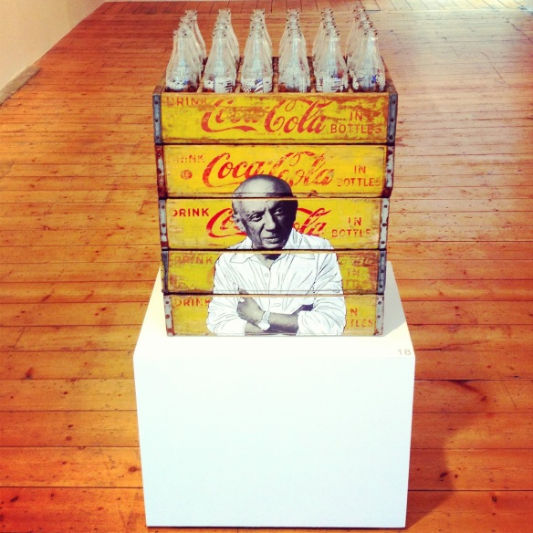 Picasso on Coca-Cola Crates - Pakpoom Silaphan