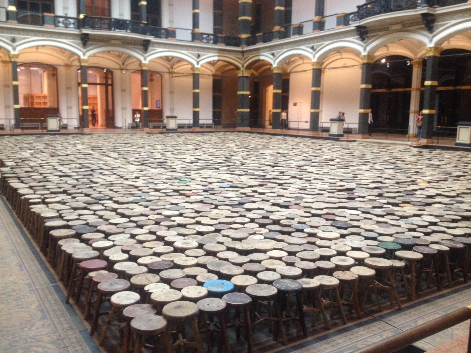 Ai weiwei dropping the evidence bomb on china in berlin stool sample floridaeventfo Image collections