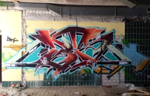 Sauna graffiti