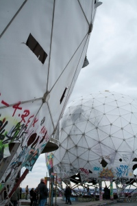Teufelsberg Spy towers